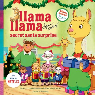 Llama Llama Secret Santa Surprise Cover Image