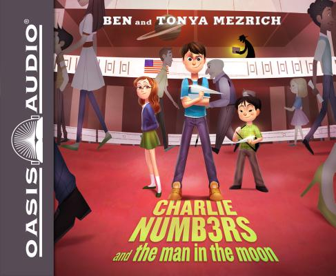 Charlie Numbers and the Man in the Moon (Library Edition) Cover Image