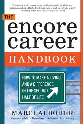 The Encore Career Handbook Cover
