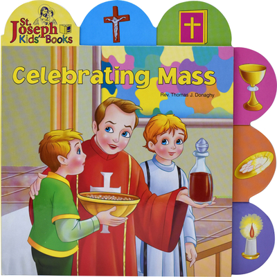 Celebrating Mass (St. Joseph Board Books) Cover Image