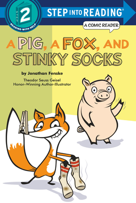 A Pig, a Fox, and Stinky Socks (Step into Reading) Cover Image