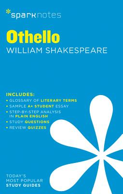 Othello Sparknotes Literature Guide, 54 Cover Image