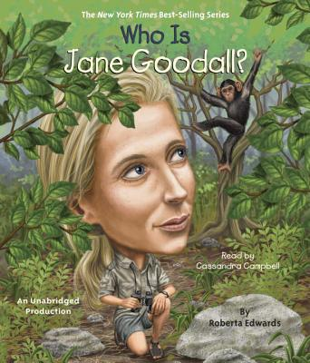 Cover for Who Is Jane Goodall? (Who Was?)