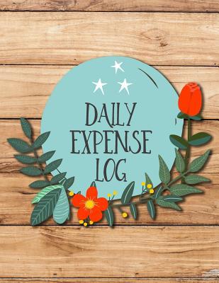 Daily Expense Log: Spending Log Book Cover Image