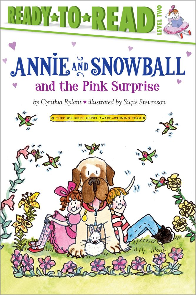 Annie and Snowball and the Pink Surprise Cover