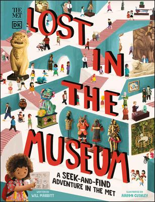 The Met Lost in the Museum: A seek-and-find adventure in The Met (DK The Met) Cover Image
