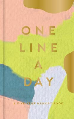Modern One Line a Day: A Five-Year Memory Book (Daily Journal, Mindfulness Journal, Memory Books, Daily Reflections Book) Cover Image