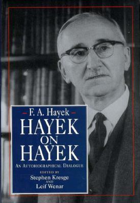 Hayek on Hayek Cover