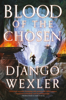 Cover for Blood of the Chosen (Burningblade & Silvereye #2)