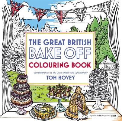 Great British Bake Off Colouring Book Cover Image