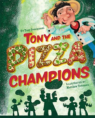 Tony and the Pizza Champions Cover