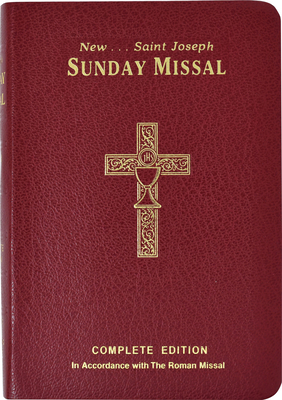 St. Joseph Sunday Missal Canadian Edition: Complete and Permanent Edition Cover Image