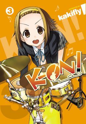 K-On!, Volume 3 Cover