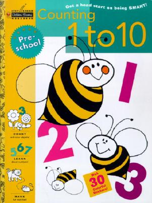 Counting 1 to 10 (Preschool) (Step Ahead) Cover Image