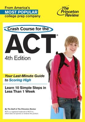 Crash Course for the ACT Cover