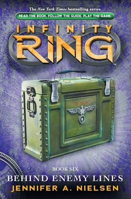 Infinity Ring Book 6: Behind Enemy Lines - Library Edition Cover Image