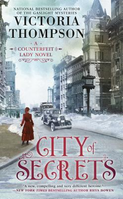 City of Secrets (A Counterfeit Lady Novel #2) Cover Image