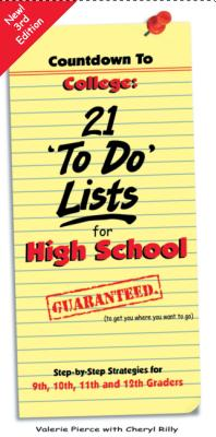 Countdown to College: 21 'To Do' Lists for High School Cover Image