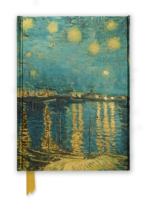 Van Gogh: Starry Night Over the Rhone (Foiled Journal) (Flame Tree Notebooks #11) Cover Image