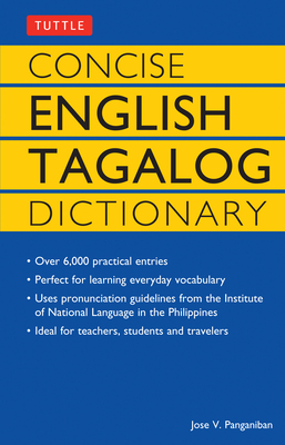 Cover for Concise English Tagalog Dictionary (Tuttle Language Library)