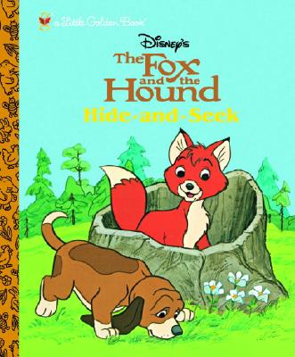 The Fox and the Hound: Hide and Seek (Little Golden Book) Cover Image