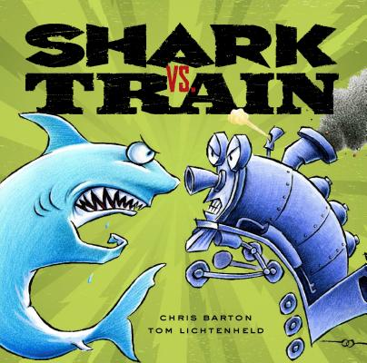 Shark vs. Train Cover