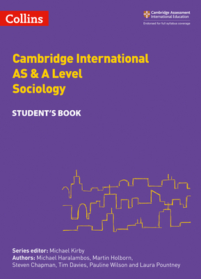 Cambridge International Examinations – Cambridge International AS and A Level Sociology Student Book Cover Image