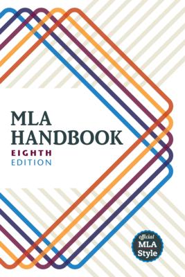 MLA Handbook Cover Image