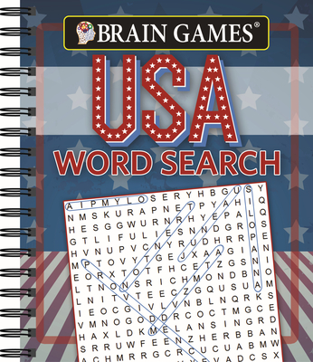 Brain Games - USA Word Search (#1) Cover Image