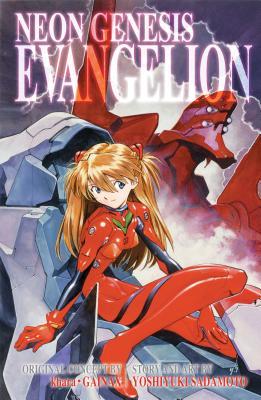 Neon Genesis Evangelion 3-in-1 Edition, Vol. 3: Includes vols. 7, 8 & 9 Cover Image