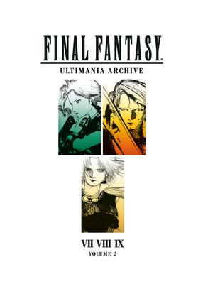 Final Fantasy Ultimania Archive Volume 2 Cover Image