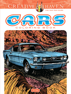 Creative Haven Cars Coloring Book (Creative Haven Coloring Books) Cover Image
