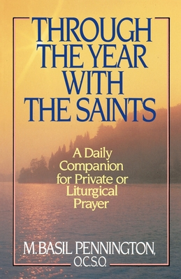 Through the Year with the Saints Cover Image