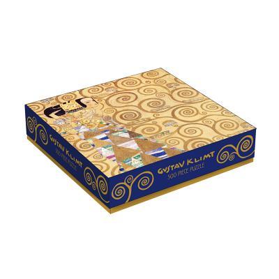 Klimt Expectation 500 Piece Puzzle Cover Image