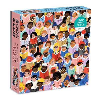 Book Club 1000 Piece Puzzle in a Square Box Cover Image