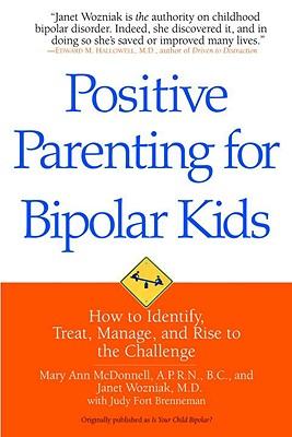 Positive Parenting for Bipolar Kids Cover