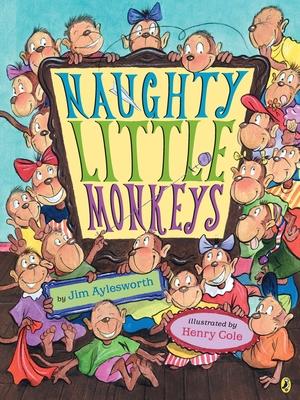 Naughty Little Monkeys Cover Image