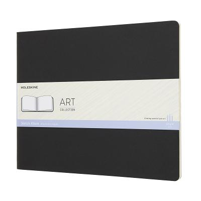 Moleskine Art Collection Sketch Album, XXL, Plain, Hard Cover (8.5 x 11) Cover Image