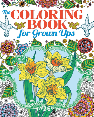 Coloring Book for Grown Ups (Chartwell Coloring Books) Cover Image