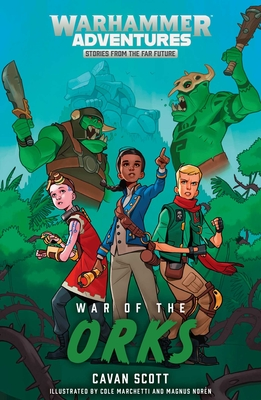 Cover for War of the Orks (Warhammer Adventures
