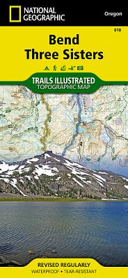 Bend, Three Sisters (National Geographic Trails Illustrated Map #818) Cover Image
