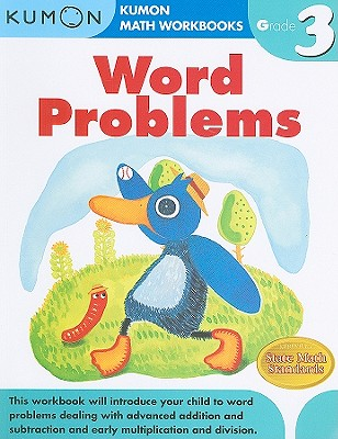 Word Problems, Grade 3 (Kumon Math Workbooks) Cover Image