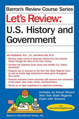 Let's Review U.S. History and Government (Barron's Regents NY) Cover Image