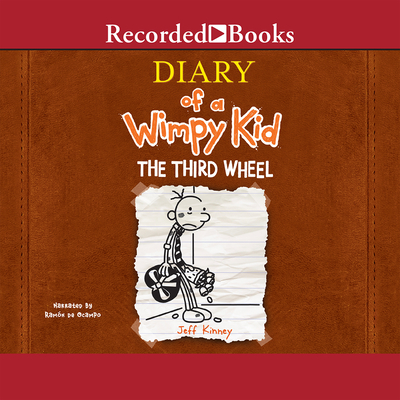 Diary of a Wimpy Kid: The Third Wheel Cover Image