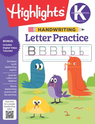 Handwriting: Letter Practice (Highlights Handwriting Practice Pads) Cover Image