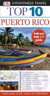 DK Eyewitness Top 10 Puerto Rico (Pocket Travel Guide) Cover Image