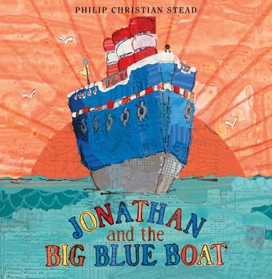 Jonathan and the Big Blue Boat Cover