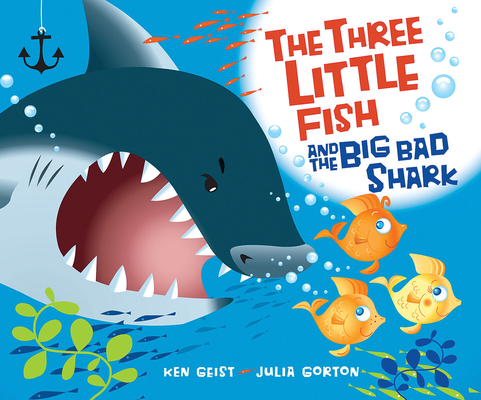 The Three Little Fish and the Big Bad Shark Cover