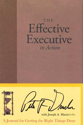 The Effective Executive in Action Cover