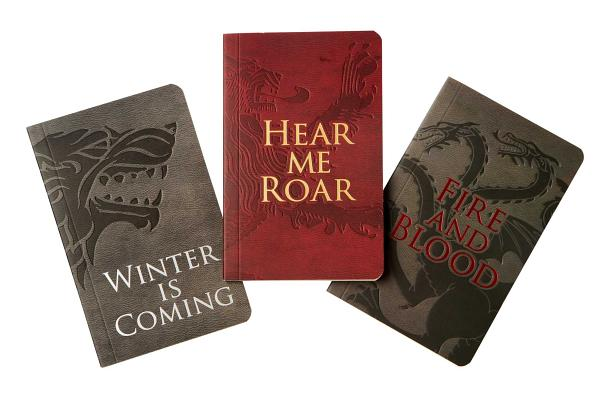 Game of Thrones: Pocket Notebook Collection (Set of 3): House Words Cover Image